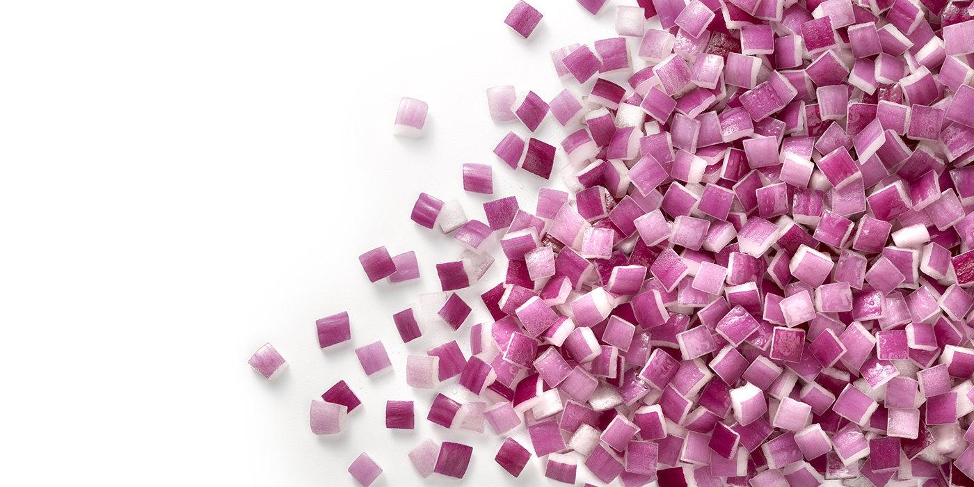 Red onions diced 6x6x6 | Ardo