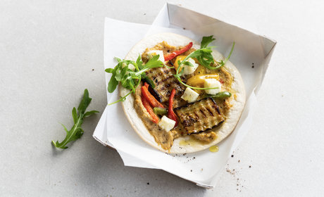 veggie_pizza_wrap_baba_ganoush_tricolore_peppers_and_feta